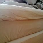 Naken ramme madrass
