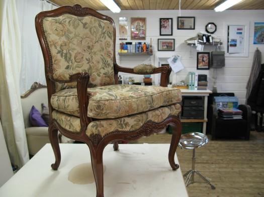 Bestemors Rokokko stol