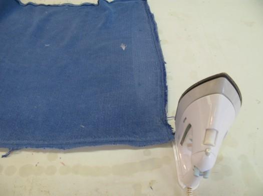 Det gamle stoffet brukes også som mal.