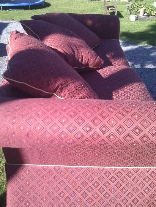 Stor & god sofa