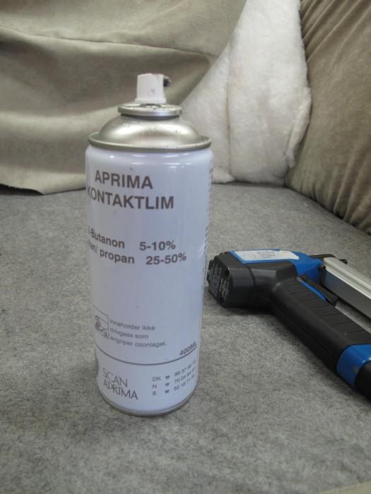 Spraylim & stiftepistol