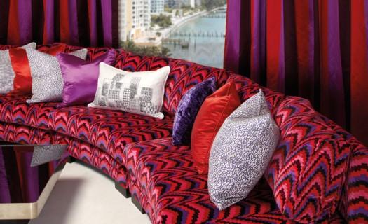 Miami møbeltekstil fra Zinc