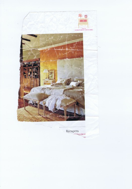 Inspirasjonsbildet av sengegavlen