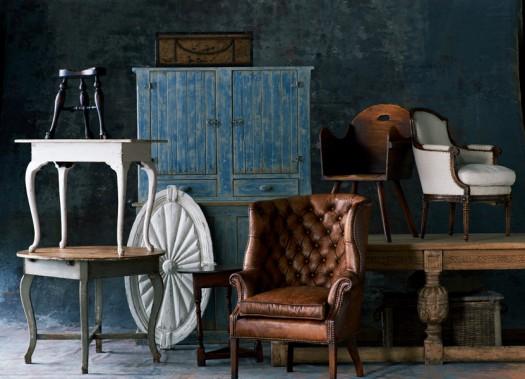 Nydelig farger, tekstiler og møbler i RLH nye kolleksjon