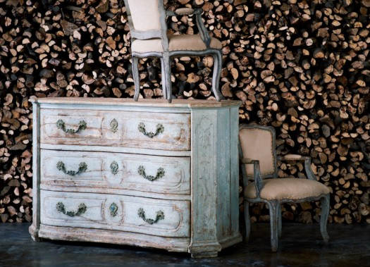 Rokokko stol fra Ralph Laurent Home