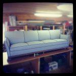 Omtrekk av sofa