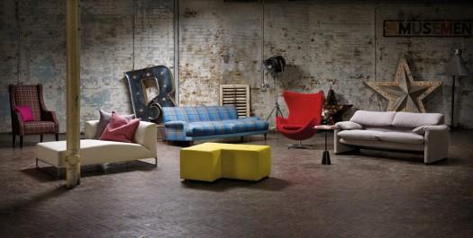 Adventsstjerne og tekstiler fra Kirkby Design