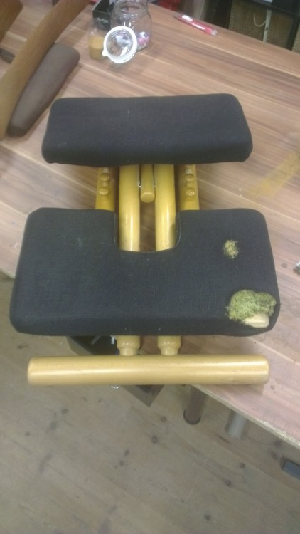 Stokke balanse stol