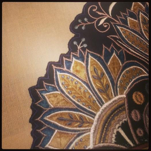 Fantastiske mønstre fra en tidligere Mulberry kolleksjon