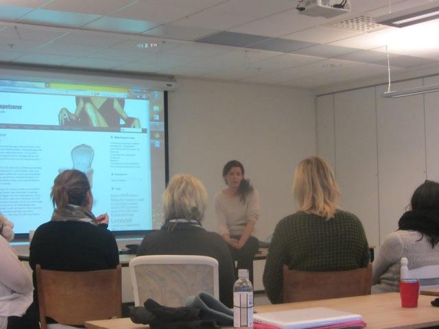 Foredrag på Høyskolen i Oslo & Akershus