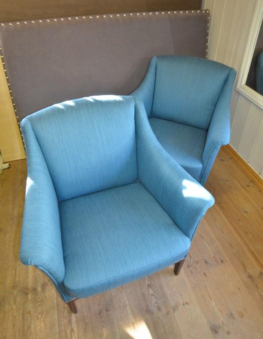 klassiske stoler i tekstil fra Innvik/Sellgren