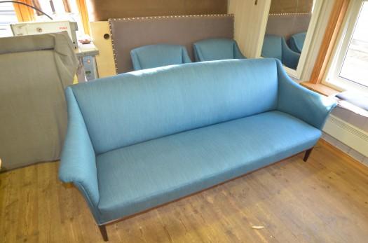 Sofa i nytt Krus tekstil
