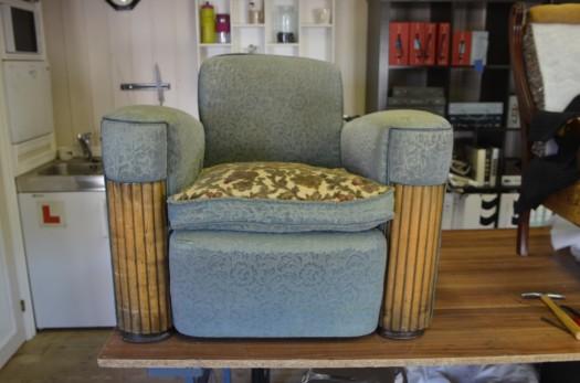 Heftig & massiv maskulin stol!