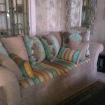 Sofa i tekstil fra Designers Guild