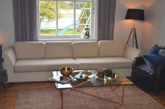 Slettvoll sofa før omtrekk