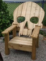 Adirondac skull stol!