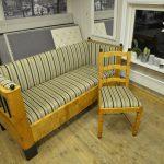 Omtrekk av sofa og stol