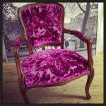 Omtrekt i tekstilet Rondin fra Designers Guild