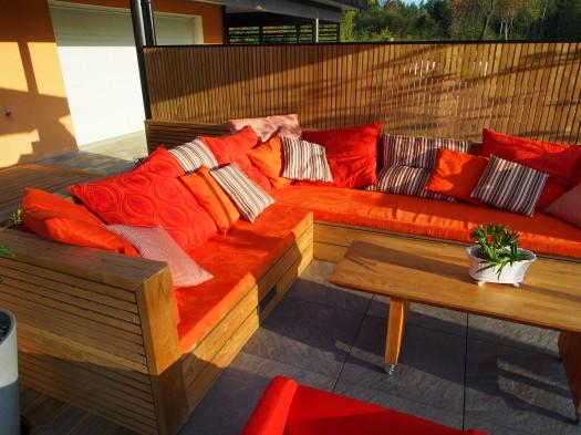 Sofa i utendørstekstilet Niroxx