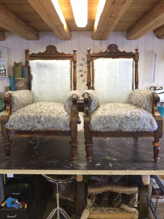 Oppbygging av stolene