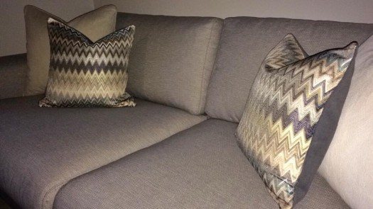 Puter sydd i tekstil fra Missoni Home