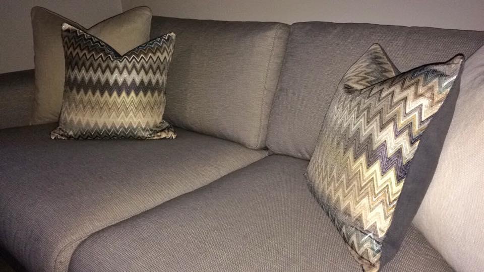 Puter sydd i tekstil fra Missoni Home